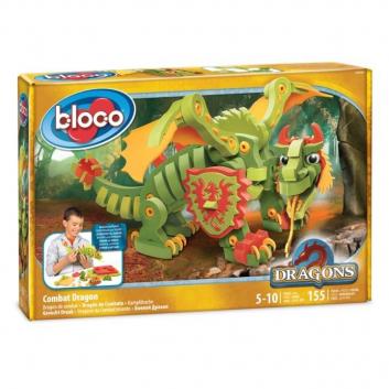 Игрушки, Конструктор Боевой дракон Bloco 658480, фото