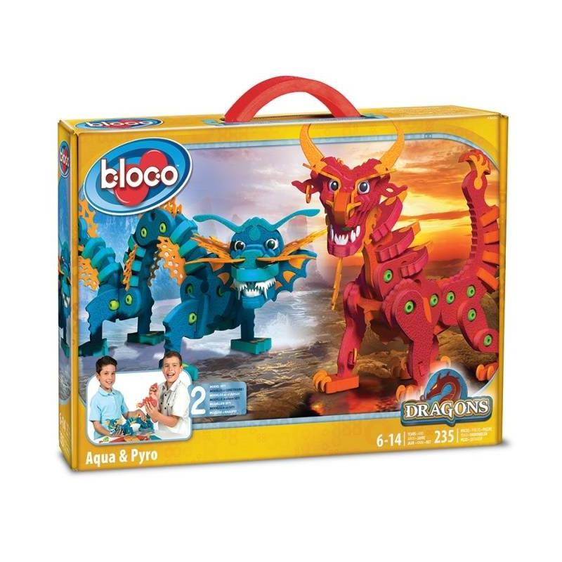 Bloco Конструктор Драконы воды и огня конструктор bloco живая природа морские животные 235 элементов 30241
