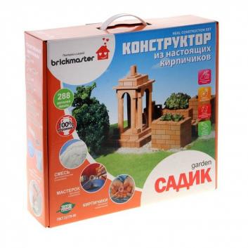 Игрушки, Конструктор Садик 288 деталей Brickmaster 658495, фото