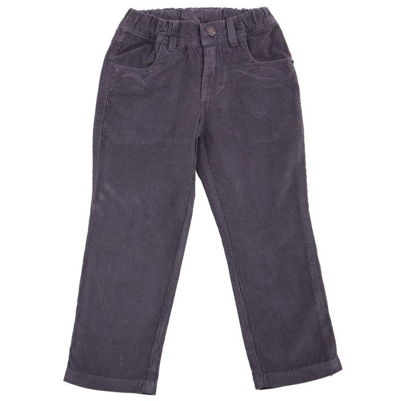 БрюкиБрюки темно-серого цвета марки Playtoday для мальчиков.<br>Вельветовые брюки выполнены из натурального хлопка, а также дополнены передними и задними карманами. Модель со шлевками для ремня застегивается на удобную молнию.<br><br>Размер: 5 лет<br>Цвет: Темносерый<br>Рост: 110<br>Пол: Для мальчика<br>Артикул: 649335<br>Страна производитель: Китай<br>Сезон: Весна/Лето<br>Состав: 100% Хлопок<br>Бренд: Германия