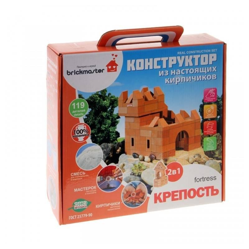 Brickmaster Конструктор 2 в 1 Крепость 119 деталей конструктор brickmaster крепость 2 в 1 119 деталей 205