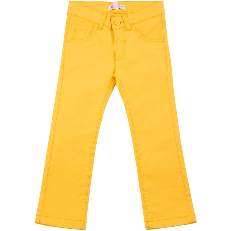 БрюкиБрюкижёлтогоцвета марки Playtoday для девочек.<br>Яркие хлопковые брюкизастёгиваются на молнию и пуговицу. Модель дополнена передними и задними карманами,шлёвками для ремня, а также регулируемойкулиской на талии.<br><br>Размер: 4 года<br>Цвет: Желтый<br>Рост: 104<br>Пол: Для девочки<br>Артикул: 649465<br>Страна производитель: Бангладеш<br>Сезон: Весна/Лето<br>Состав: 98% Хлопок, 2% Эластан<br>Бренд: Германия