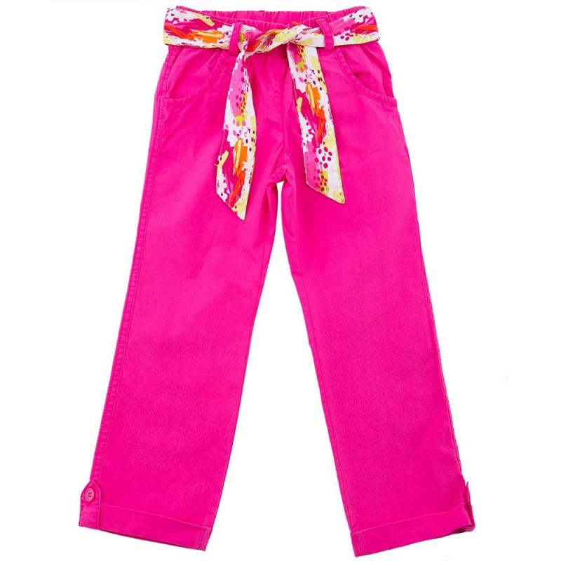 БрюкиБрюкималиновогоцвета марки Playtoday для девочек.<br>Яркие однотонные брюки выполнены из чистого хлопка. Модель дополнена передними карманами, широкой удобной резинкой на талии, шлёвками для ремня ипоясом с разноцветным абстрактным принтом. Брюки декорированы отворотами на пуговицах.<br><br>Размер: 4 года<br>Цвет: Малиновый<br>Рост: 104<br>Пол: Для девочки<br>Артикул: 649485<br>Страна производитель: Китай<br>Сезон: Весна/Лето<br>Состав: 100% Хлопок<br>Бренд: Германия