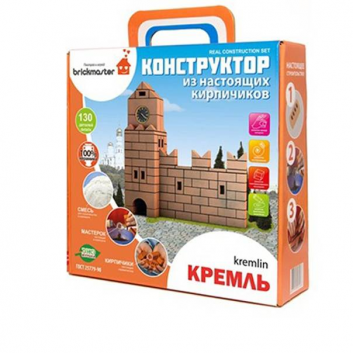 Игрушки, Конструктор Кремль 136 деталей Brickmaster 658504, фото