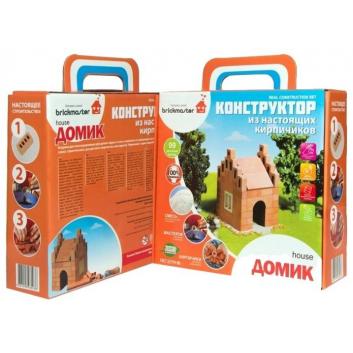 Игрушки, Конструктор Домик 99 деталей Brickmaster 658506, фото