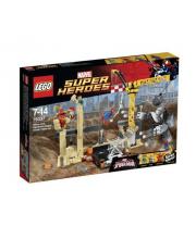 Конструктор Носорог и Песочный человек про Super Heroes 054668/76037 LEGO