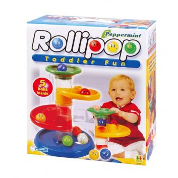 Конструктор Крутые виражи Rollipop 7 деталей
