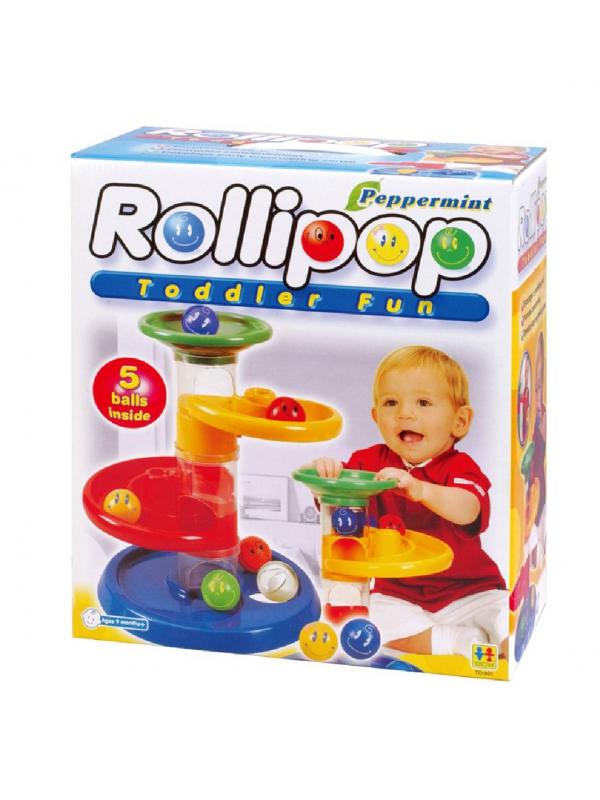 Конструктор Крутые виражи Rollipop 7 деталей TOTO TOYS