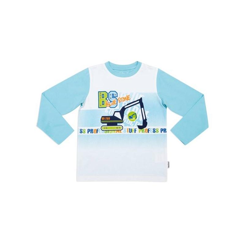 Футболка с длинным рукавомФутболка с длинным рукавомголубогоцвета марки Playtoday для мальчиков.<br>Хлопковая футболка с добавлением эластана декорирована заклепками, надписями и принтом с изображением экскаватора.<br><br>Размер: 8 лет<br>Цвет: Голубой<br>Рост: 128<br>Пол: Для мальчика<br>Артикул: 649201<br>Страна производитель: Бангладеш<br>Сезон: Весна/Лето<br>Состав: 95% Хлопок, 5% Эластан<br>Бренд: Германия