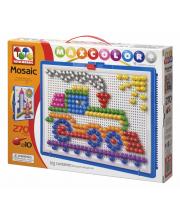 Мозаика цветная Веселый паровозик ToysUnion