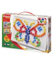 Мозаика цветная Бабочка ToysUnion