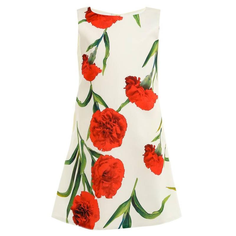 ПлатьеПлатьемолочногоцвета марки Fansy Way.<br>Праздничное атласноеплатьена широких бретелях выполнено из приятной на ощупь ткани идополнено хлопковой подкладкой, а также небольшими боковыми карманами.Платье декорировано принтом с изображениями ярко-красных гвоздик.Модельзастегивается на потайную молнию<br>Нарядное платье Fansy Wayстанет самым изысканным нарядом на праздничном мероприятии.<br><br>Размер: 6 лет<br>Цвет: Бежевый<br>Рост: 116<br>Пол: Для девочки<br>Артикул: 677050<br>Страна производитель: Россия<br>Сезон: Всесезонный<br>Состав верха: 100% Полиэстер<br>Состав подкладки: 100% Хлопок<br>Бренд: Россия<br>Вид застежки: Молния