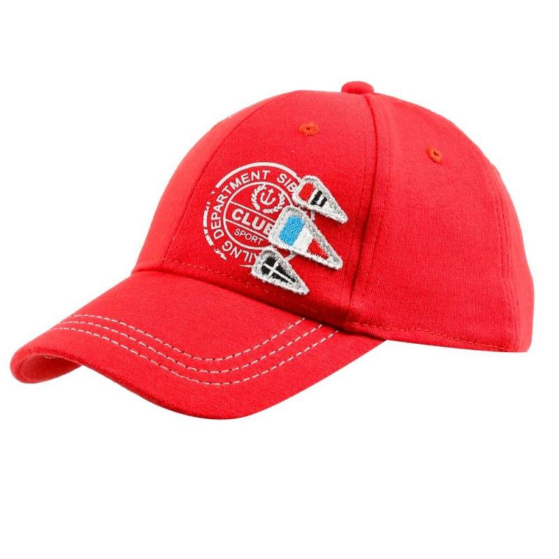БейсболкаБейсболка красногоцветамарки Чудо-крохадлямальчиков.<br>Стильная бейсболка выполнена в насыщенном цвете из чистого хлопка и декорирована стильным принтом с надписью, а также вышивкой. Хлястик позволяет регулировать объем головного убора.<br><br>Размер: 4 года<br>Цвет: Красный<br>Размер: 52<br>Пол: Для мальчика<br>Артикул: 679526<br>Страна производитель: Китай<br>Сезон: Весна/Лето<br>Состав: 100% Хлопок<br>Бренд: Россия