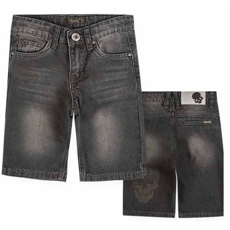 ШортыШорты черного цвета из коллекции The Biker марки De Salitto для мальчиков.<br>Джинсовые шорты выполнены из хлопка с добавлением эластана и декорированы оригинальным принтом. Модель дополнена удобными карманами, а также шлевками для ремня.<br><br>Размер: 14 лет<br>Цвет: Черный<br>Рост: 162<br>Пол: Для мальчика<br>Артикул: 680752<br>Страна производитель: Китай<br>Сезон: Весна/Лето<br>Состав: 85% Хлопок, 15% Эластан<br>Бренд: Италия