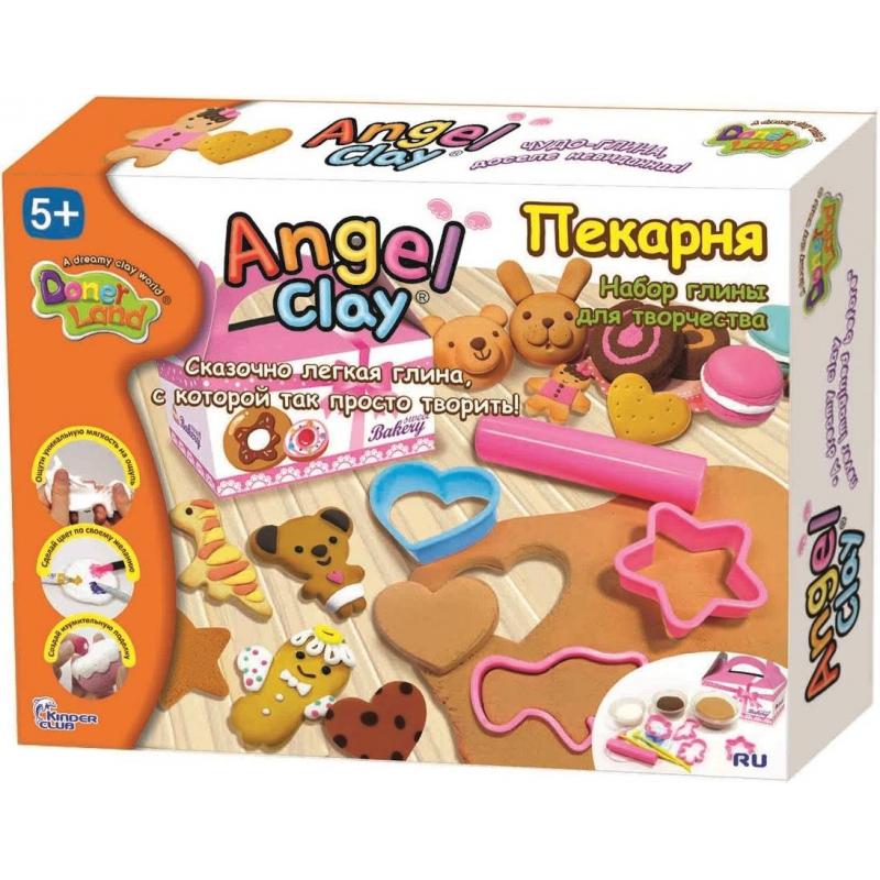 Angel Clay Игровой набор для творчества Пекарня набор для лепки donerland angel clay funny safari aa14021