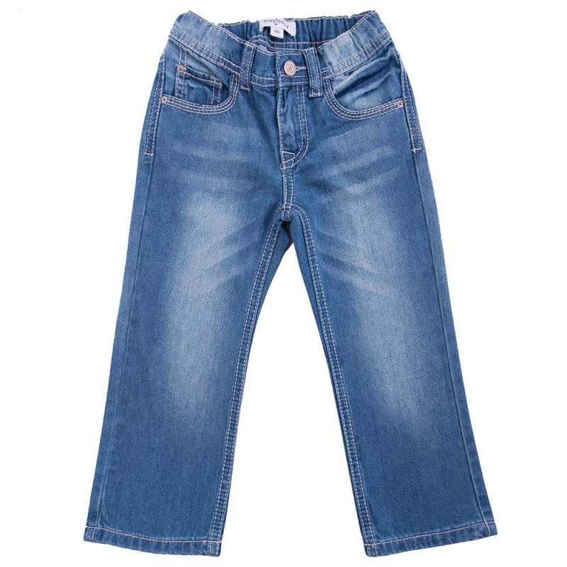 ДжинсыДжинсы голубого цвета марки Playtoday для мальчиков.<br>Джинсовые брюки выполнены из натурального хлопка и декорированы эффектом потертости. Модель дополнена передними и задними карманами, а также поясом на широкой резинке, который регулируется специальными пуговицами на внутренней стороне. Джинсы прямого кроя застегиваются на удобную молнию.<br><br>Размер: 4 года<br>Цвет: Голубой<br>Рост: 104<br>Пол: Для мальчика<br>Артикул: 649073<br>Страна производитель: Китай<br>Сезон: Весна/Лето<br>Состав: 100% Хлопок<br>Бренд: Германия