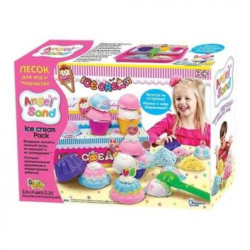 Набор песка для игры и творчества Ice Cream Pack