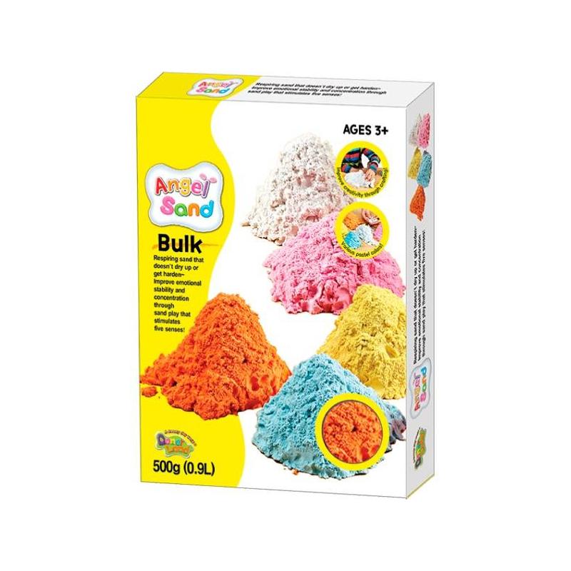 Набор песка для игры и творчества Оранжевый 0,9 л