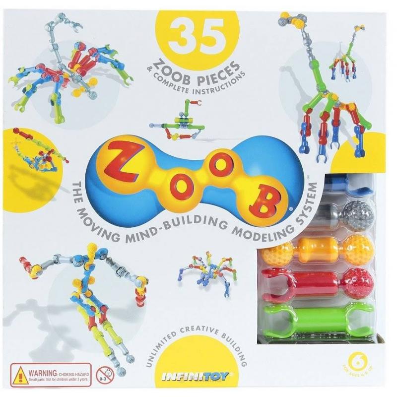 ZOOB Конструктор 35 конструктор конструктор забияка крокодил 1305717