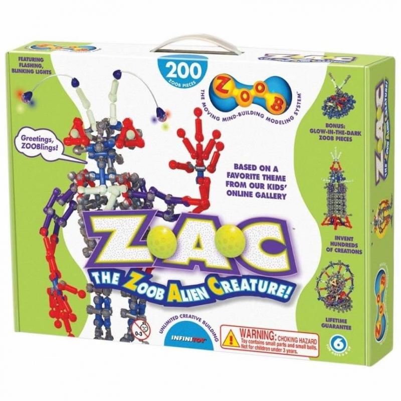 ZOOB Конструктор Alien Creature creature commandos