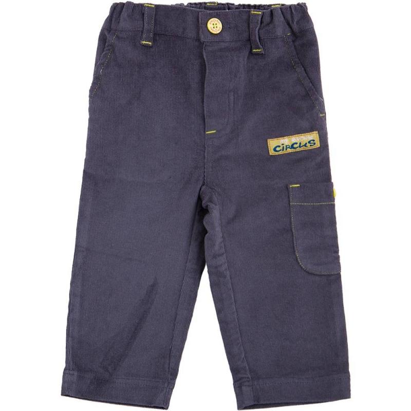 БрюкиБрюки темно-серого цвета марки Playtoday длямальчиков.<br>Вельветовые брюки выполнены из хлопка с добавлением эластана и декорированы контрастной строчкой, а также стильной нашивкой. Модель дополнена боковым и передними карманами. Брюки с шлевками для ремня застегиваются на удобную пуговицу. Пояс на широкой резинке, который регулируется специальными пуговицами на внутренней стороне.<br><br>Размер: 18 месяцев<br>Цвет: Темносерый<br>Рост: 86<br>Пол: Для мальчика<br>Артикул: 649232<br>Страна производитель: Китай<br>Сезон: Весна/Лето<br>Состав: 97% Хлопок, 3% Эластан<br>Бренд: Германия<br>Вид застежки: Пуговицы