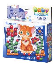 Мозаика с аппликацией Котята ToysUnion