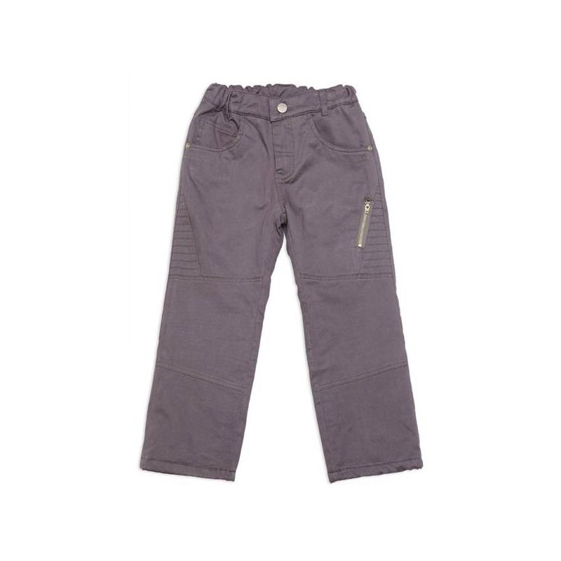 БрюкиБрюкисерогоцвета марки Playtoday для мальчиков.<br>Стильные брюки, выполненные из натурального хлопка, украшены декоративной строчкой. Модель дополнена передними и задними карманами, а также одним кармашком на молнии. Брюки с мягкой флисовой внутренней стороной дополнены хлопковой подкладкой. У модели имеются шлевки для ремня и пояс на широкой резинке, который регулируется специальными пуговицами на внутренней стороне. Брюки застегиваются на удобную молнию.<br><br>Размер: 5 лет<br>Цвет: Серый<br>Рост: 110<br>Пол: Для мальчика<br>Артикул: 649069<br>Страна производитель: Китай<br>Сезон: Весна/Лето<br>Состав: 100% Хлопок<br>Состав подкладки: 60% Хлопок, 40% Полиэстер<br>Бренд: Германия