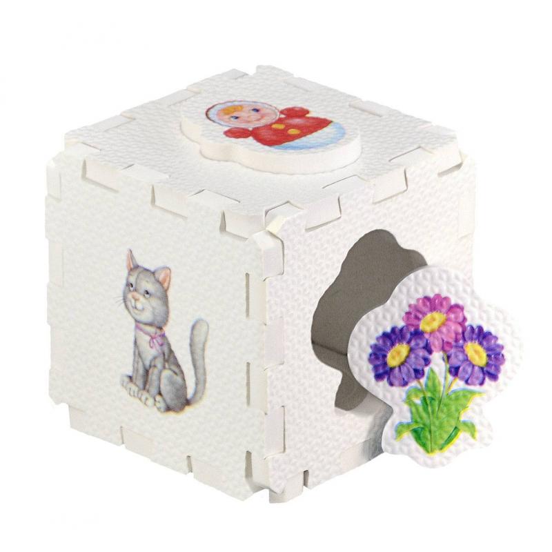 Развивающий кубик-пазл Для девочек