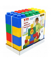 Конструктор строительный XXL 24 элемента