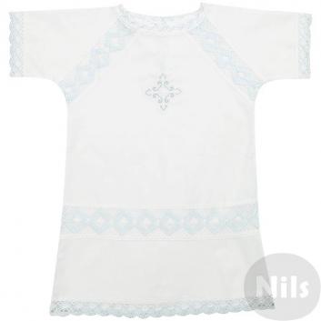 Малыши, Рубашка ДЛЯ КРЕЩЕНИЯ (голубой)605260, фото