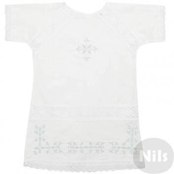 Малыши, Рубашка ДЛЯ КРЕЩЕНИЯ (голубой)605255, фото