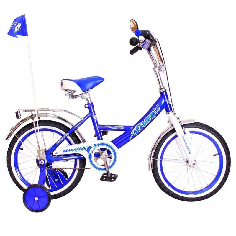 RT Велосипед двухколесный BA Дельфин 14
