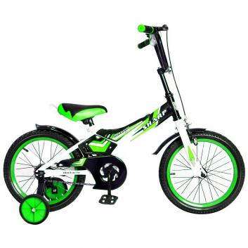 Спорт и отдых, Велосипед двухколесный BA Sharp 14 RT (зеленый)650749, фото