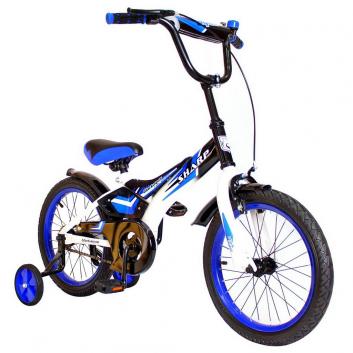Спорт и отдых, Велосипед двухколесный BA Sharp 14 RT (синий)650750, фото