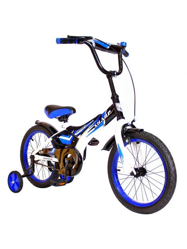 Велосипед двухколесный BA Sharp 14 RT (синий)