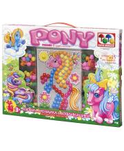 Мозаика с аппликацией Пони ToysUnion