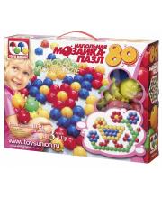 Напольная мозаика 80 элементов ToysUnion