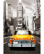 Пазл Такси Нью-Йорк 1000 деталей Educa