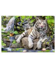 Пазл Белые Бенгальские Тигры 1000 деталей Educa