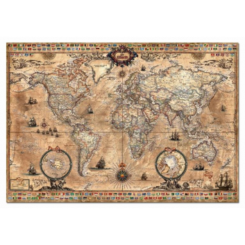 Пазл Античная карта мира 1000 деталей