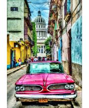 Пазл Винтажное авто в старой Гаване 1000 деталей Educa