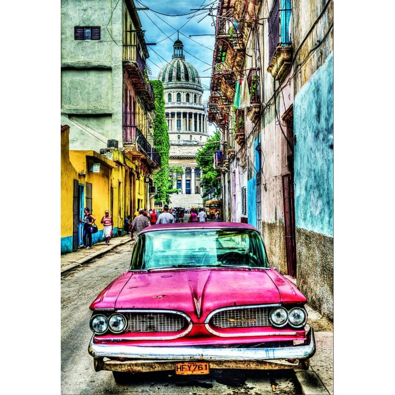 Educa Пазл Винтажное авто в старой Гаване 1000 деталей educa пазл пекарня