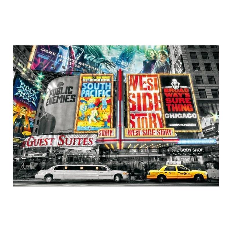 Educa Пазл Нью-Йоркский театр 1000 деталей пазлы educa пазл нью йорк коллаж 1000 элементов