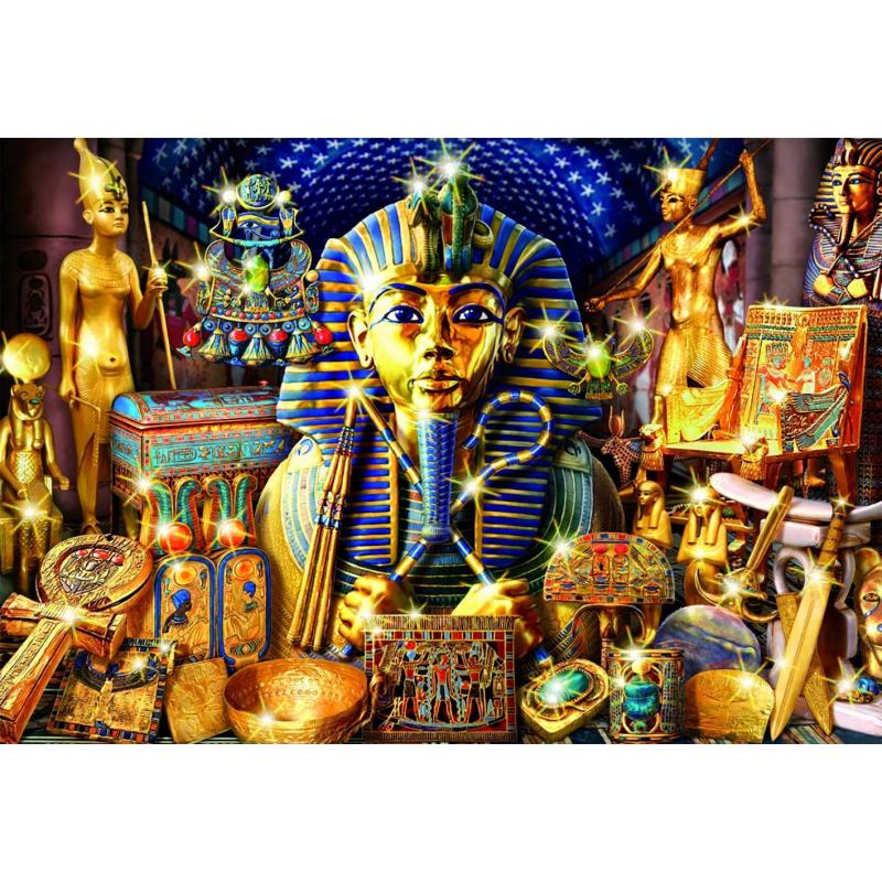 Educa Пазл Сокровища Египта 1000 деталей пазлы educa пазл 1000 деталей полночная роза