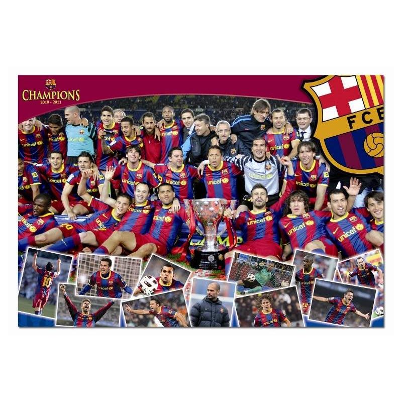 Educa Пазл ФК Барселона Чемпионы 1000 деталей