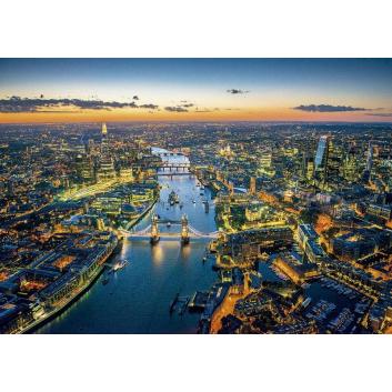 Пазл Лондон с высоты птичьего полета 1500 деталей