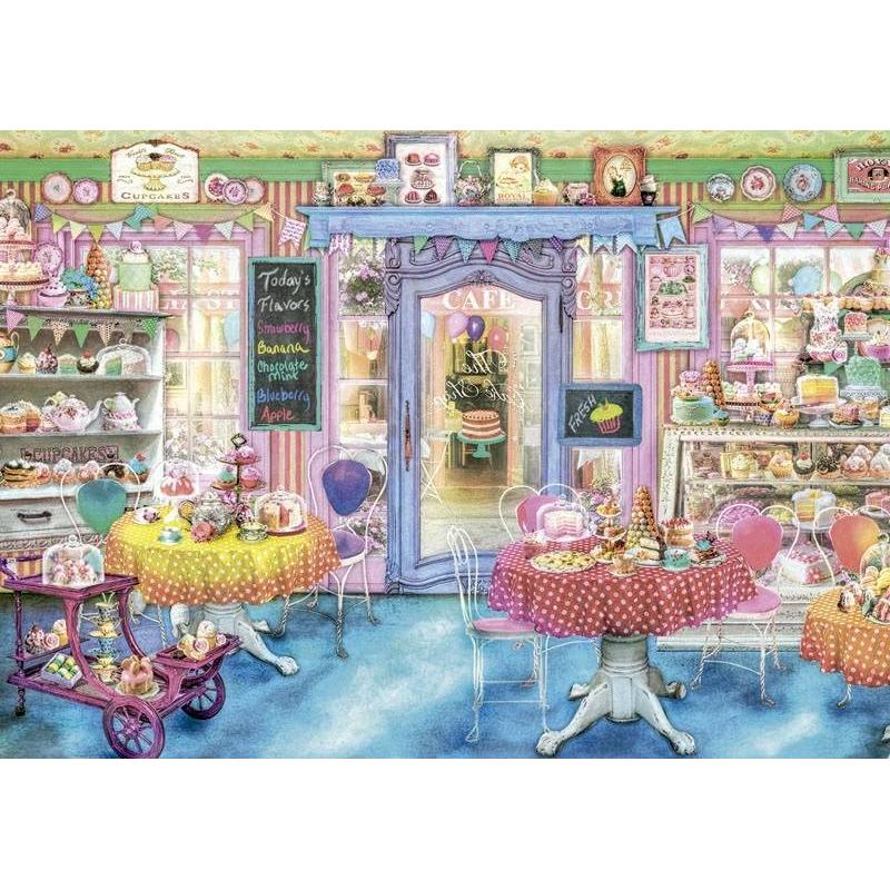 Пазл Магазин сладостей 1500 деталейПазл Магазин сладостей марки Educa.<br>Пазл состоит из 1500 элементов с изображением красочногоинтерьера магазина сладостей.<br>Размер: 85х60 см.<br><br>Возраст от: 12 лет<br>Пол: Не указан<br>Артикул: 667260<br>Бренд: Испания<br>Размер: от 12 лет<br>Количество деталей: от 1001 до 2000<br>Тематика: Еда