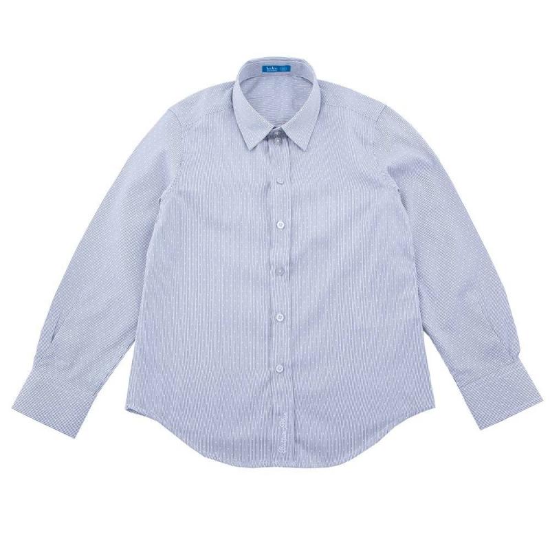 СорочкаСорочка голубогоцвета марки Button Blue для мальчиков.<br>Хлопковая сорочка с классическим отложным воротничком дополнена пуговицамина манжетах, с помощью которыхрукава можно подвернуть. Модель декорирована вышивкой с названием бренда в нижней части планки застёжки.<br><br>Размер: 12 лет<br>Цвет: Голубой<br>Рост: 152<br>Пол: Для мальчика<br>Артикул: 636753<br>Бренд: Россия<br>Страна производитель: Китай<br>Сезон: Всесезонный<br>Состав: 50% Хлопок, 50% Полиэстер<br>Вид застежки: Пуговицы