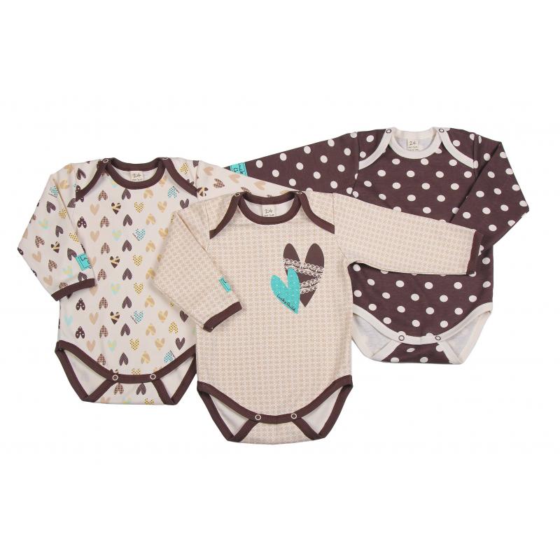 Lucky Child Комплект боди 3 шт пижамы lucky child пижама