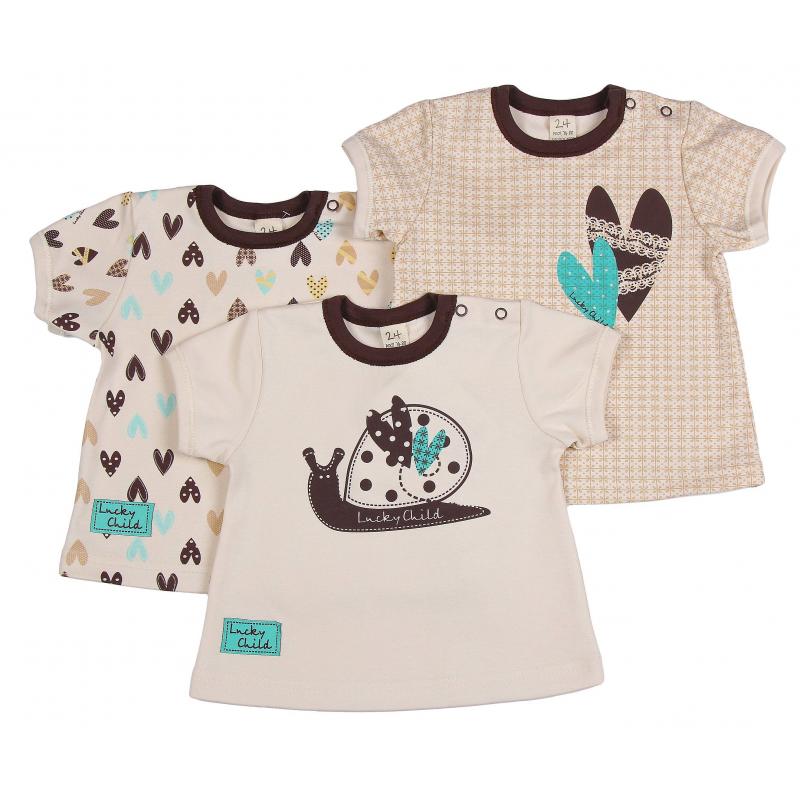 Lucky Child Комплект футболок 3 шт lucky child комплект футболок 3 шт lucky child 685283